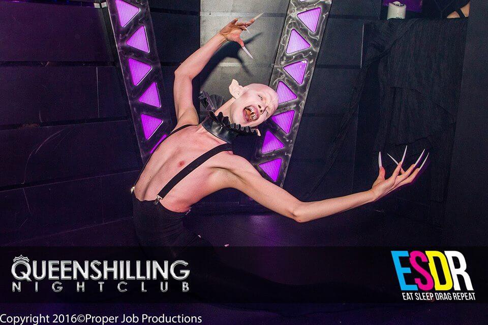 Arran Shurvinton as Nosferatu. Photo by