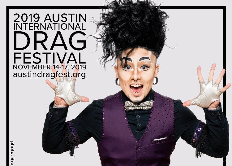 Austin International Drag Festival Headliner Announcement: Damien D'Luxe 1