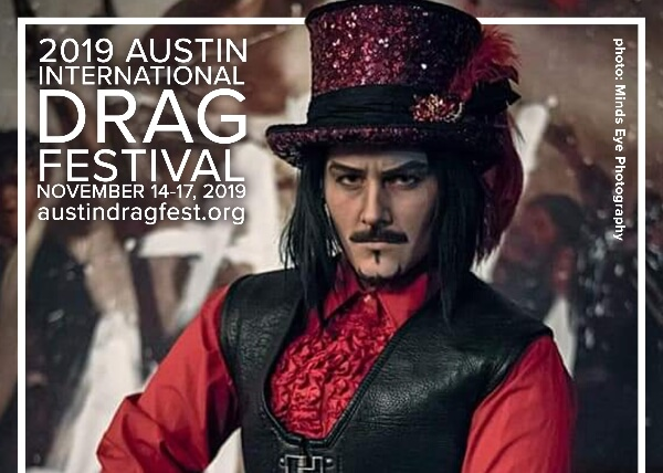 Austin International Drag Festival Headliner Announcement: Max Ryder 1