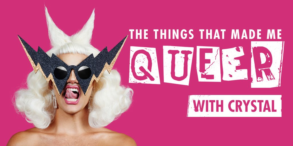"""Meow Mixx: Crystal launches """"The Things That Made Me Queer"""" 7"""